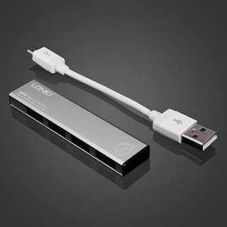 [New] LDNIO DL-H1 Aluminum alloy High speed 4 ports USB 2.0 hub