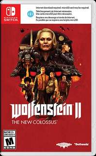 Brand New Switch Wolfenstein II
