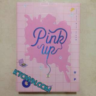 [READY STOCK] Apink Official Pink Up Unsealed Album
