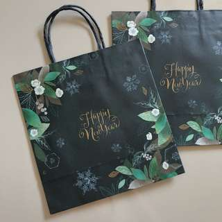Osulloc Happy New Year 2018 Paperbag