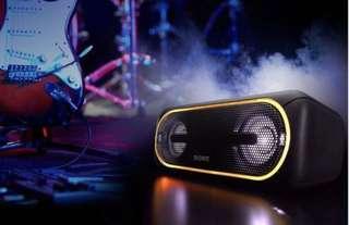 Sony SRS-XB40無線藍牙Bluetooth Speaker喇叭音箱(黑色)