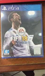 Kaset ps4 FIFA 18
