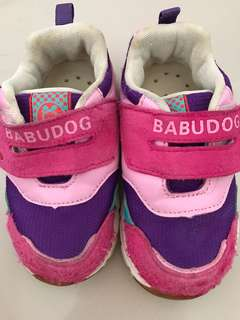 Dog Pink Shoes