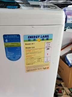 HITACHI 洗衣機 少用95%新