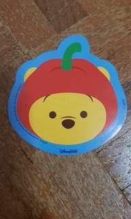 🚚 Disney Apple Winnie the Pooh sticker