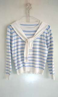 Sailor Collar Sweater