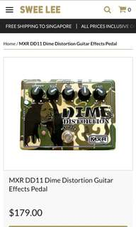 MXR Dimebag Darrell Distortion
