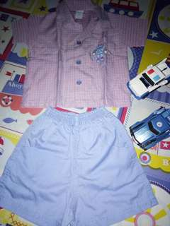 Toddler Polo&Short Set