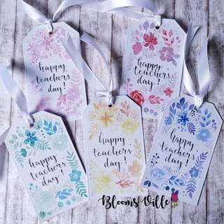 Teachers' Day Gift Tags