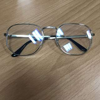 🚚 金屬框無度數眼鏡