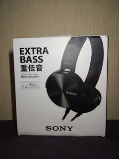 Headphones S*ony MDR XB450AP