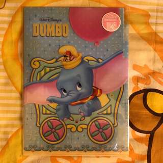 Disney Store DUMBO 小飛象A4 File 《Made in Japan》