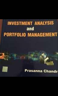 Investment and portfolio management - CFA