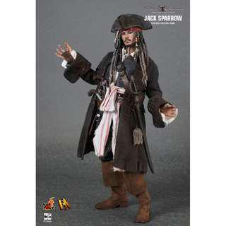 Hot Toys Jack Sparrow On Stranger Tides DX06
