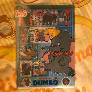Disney DUMBO 小飛象A4 File和信紙套裝