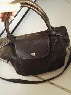 Longchamp羊皮袋