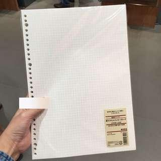 🚚 Muji A4 Grid paper