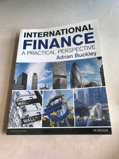 🚚 International Finance by Adrian Buckley