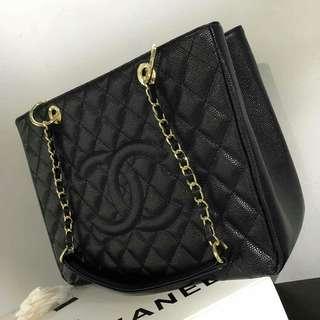 Chanel GST Caviar Black