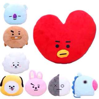 BT21 BTS Unofficial 30cm Cushion / Pillow