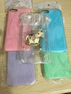iphone5 糖果色及水晶case手機殻