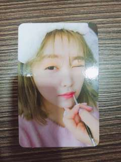 [WTS/WTT]RED VELVET PERFECT RED VELVET PHOTOCARD