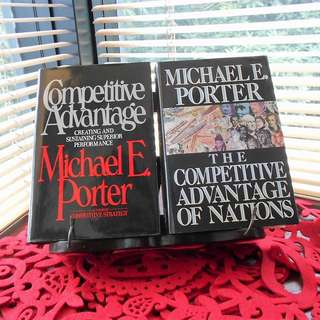 MICHAEL E. PORTER Hardcover Book – Individual or Bundle Sale