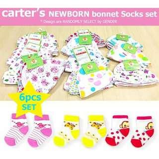 Carter's Beanie and Socks Set - GIRLS