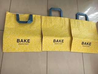 Bake Adidas Starbucks paper bag