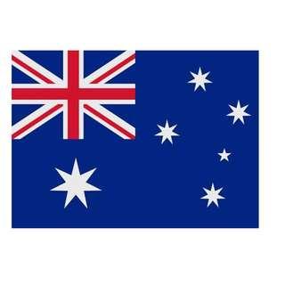 Australia Flag (14x21cm)
