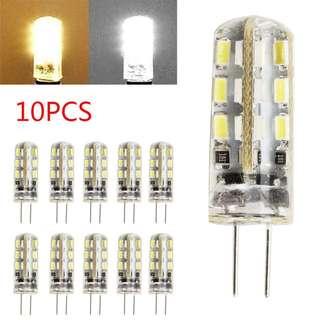 701. 10X G4 LED Bulbs Capsule Replace Halogen Bulb DC 12V Light Bulb Lamps