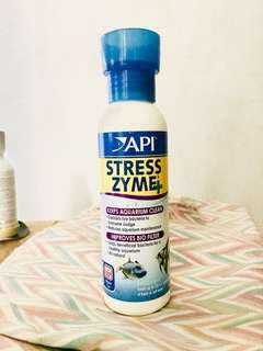 🚰 Biological Tank Filter - API® Stress Zyme Aquarium Water Conditioner