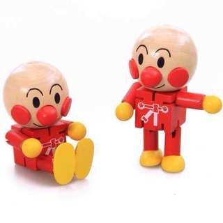 BTS Cute Anpanman Mini Wooden Figure