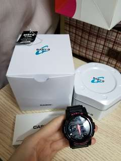 Casio Baby G 手錶 full set 近全新