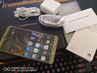 Huawei mate 10 complete package