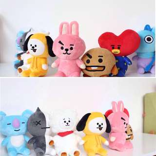 BT21 BTS Unofficial Plush / Stuffed Doll / Soft Toy