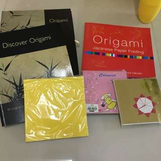Origami Book And Materials