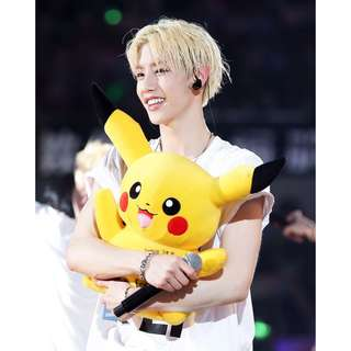 GOT7 Mark Tuan Pokémon Pikachu Plush / Stuffed / Soft Toy
