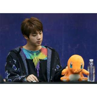 BTS Jin Pokémon Charmander Plush / Stuffed / Soft Toy