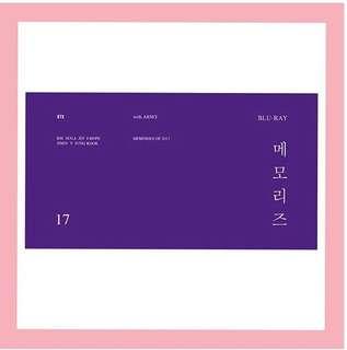 [PO] BTS MEMORIES OF 2017 BLU-RAY