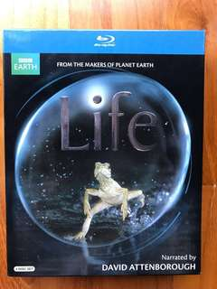 Blu-ray - Life and Planet Earth Documentary