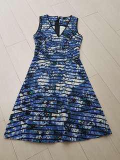 Oceanic blue dress FIX PRICE