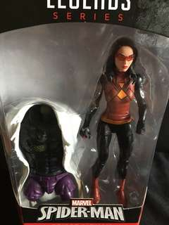 Marvel Legends Spiderwoman Blackbolt