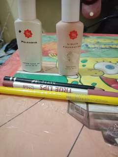 take all (foundation,pelembab,pencil alis,lipliner,eyeliner pencil)