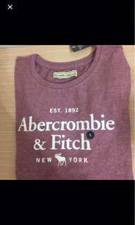 🚚 A&F棉質短袖T恤