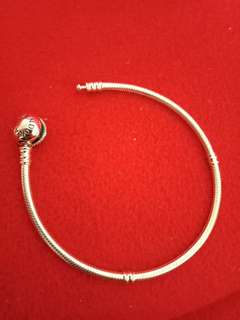 Pandora Sterling Silver Heart Clasp.