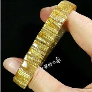 🚚 👑愛麗絲水晶👑 亮絲 天然 鈦晶 順絲 手排 手鍊 直絲 圓珠 手珠 舒俱徠 販售
