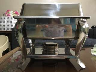 Food warmer 3 Full set Chafing Dish