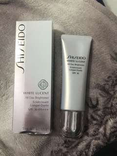 Shiseido white lucent all day brightener spf 36 50ml