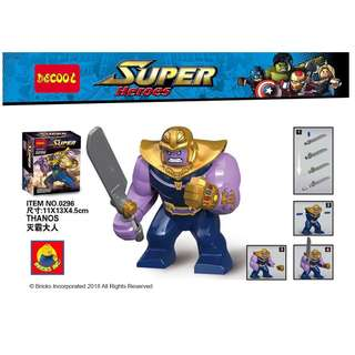 DECOOL™ 0296 Infinity War Thanos Maxifigures
